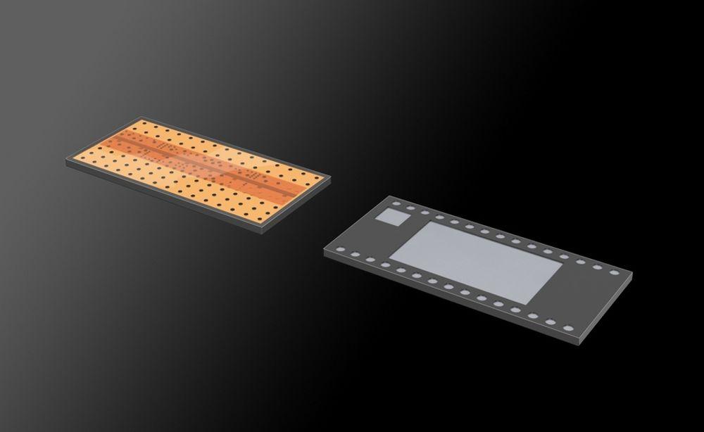 TYNN: Polymer-sensoren for avlesing av fingeravtrykk er kun 0,05 mm tykk. Nå skal den bygges inn i amerikanske sikkerhetskort.