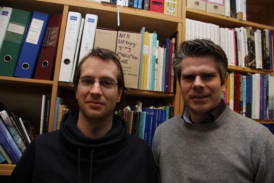 Ola Nordal og Thomas Brandt, NTH-historikere