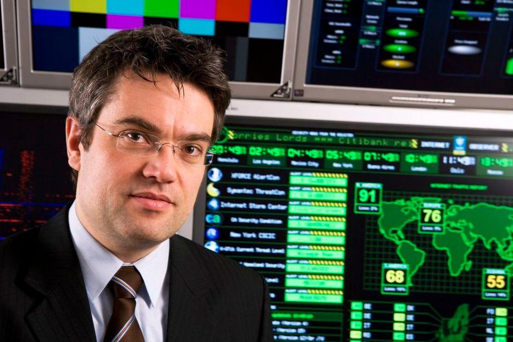 VINNER PRIS: Christophe Birkeland i NSM.