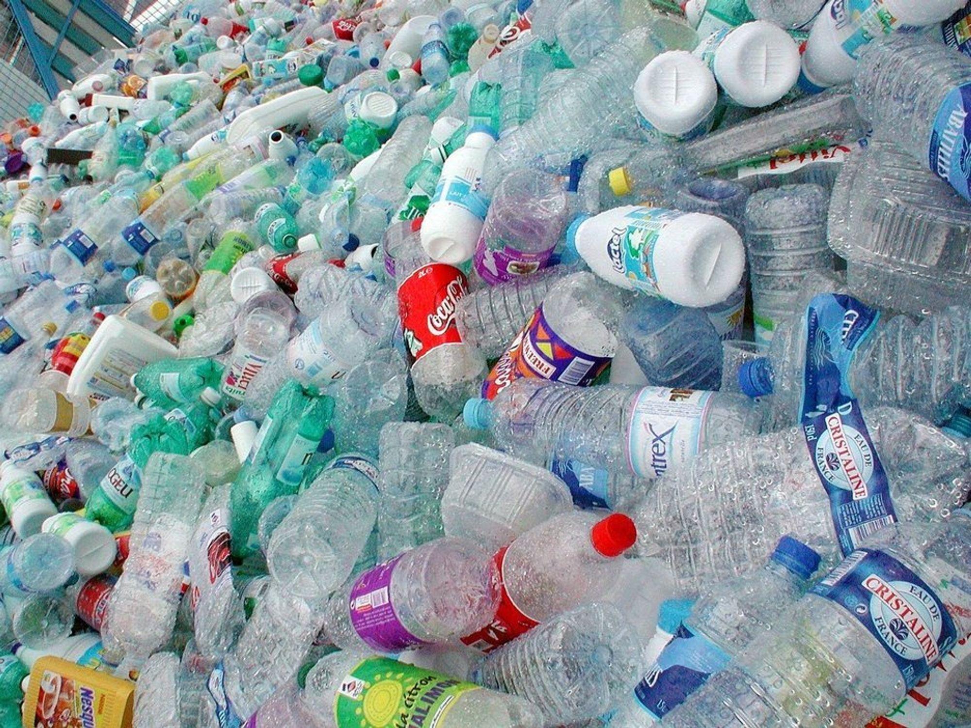 INGEN VITS? SSBs forskningsleder mener det ikke lønner seg å sortere plast.