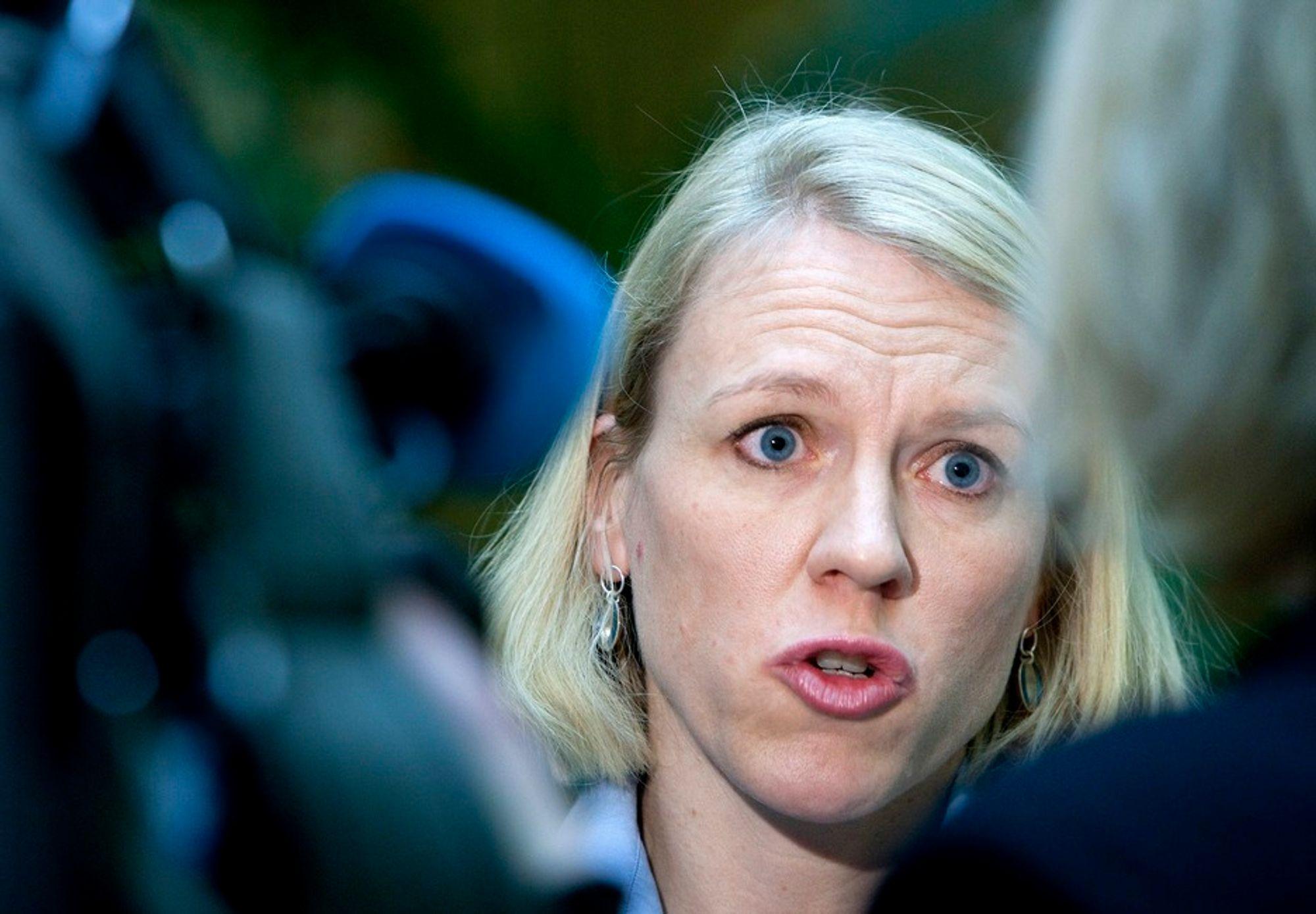 Fornøyd: Arbeidsminister Anniken Huitfeldt.