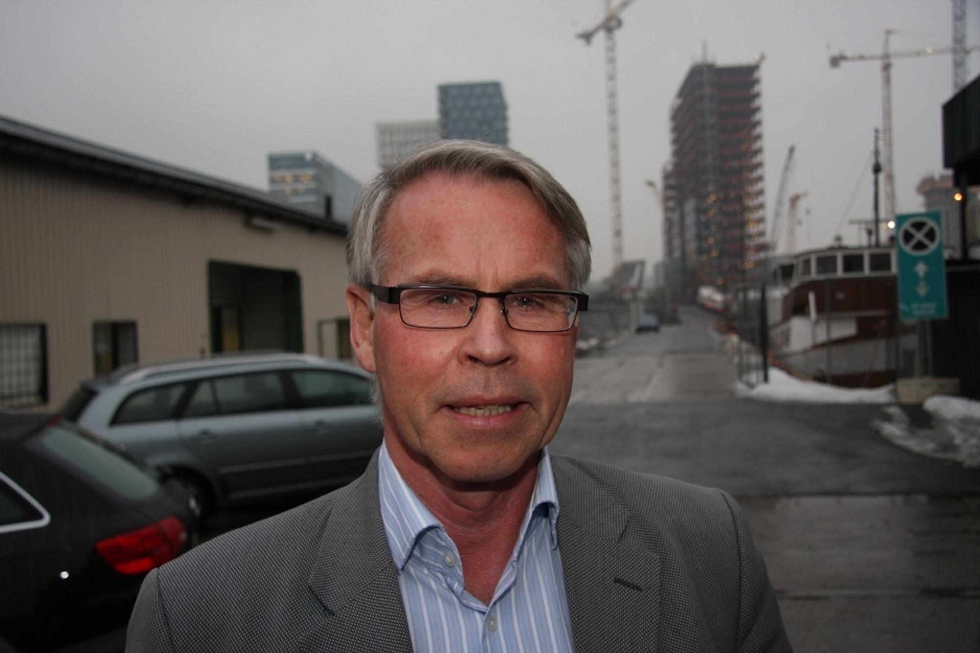 MÅ HANDLE NÅ: - Regjeringen må ta grep og prioritere utbyggingen av intercity-triangelet nå, sier Advansia-direktør Bjørn Sund.