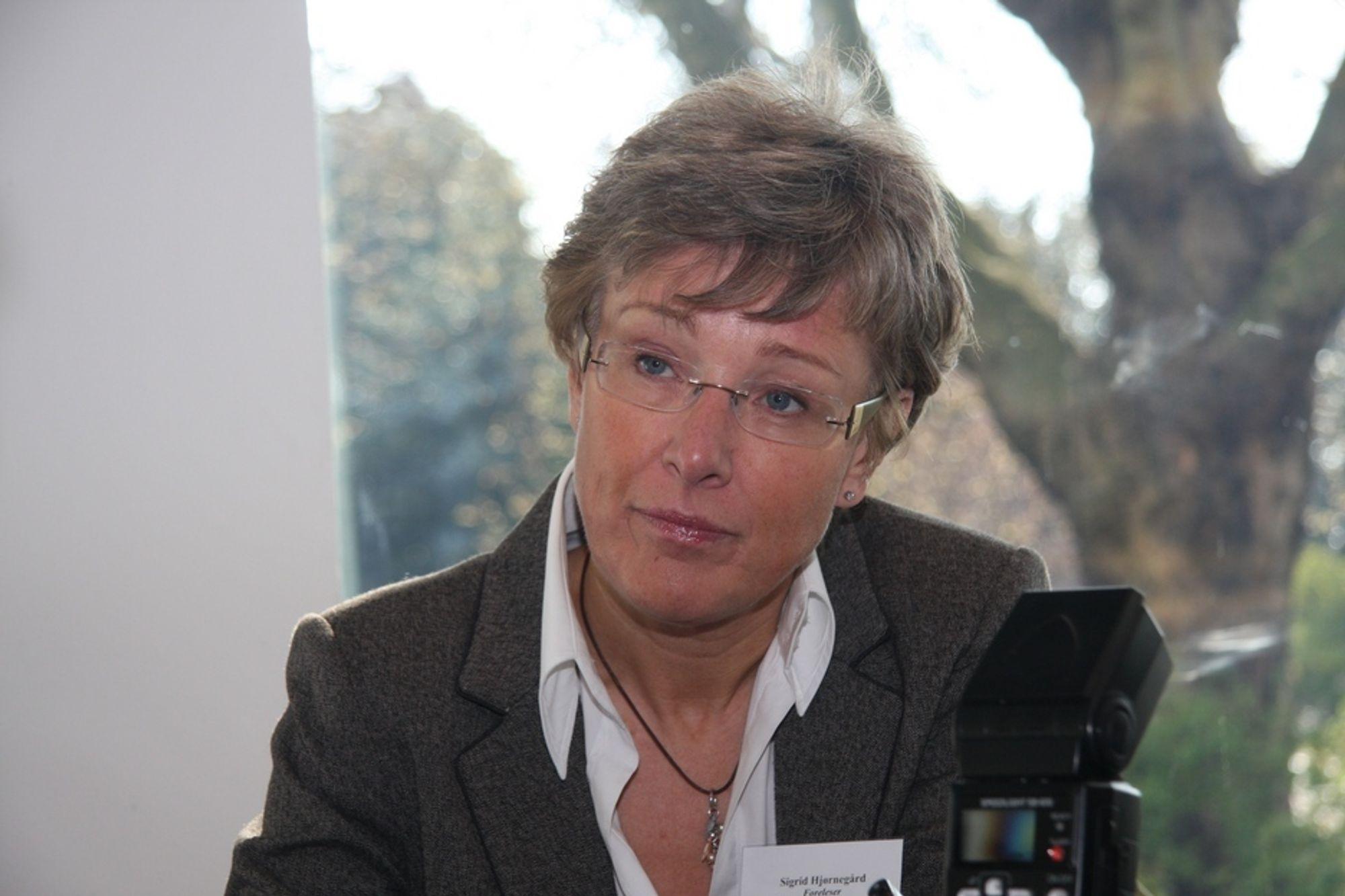 Statssekretær Sigrid Hjørnegård avslo søknaden fra Senterpartiet.