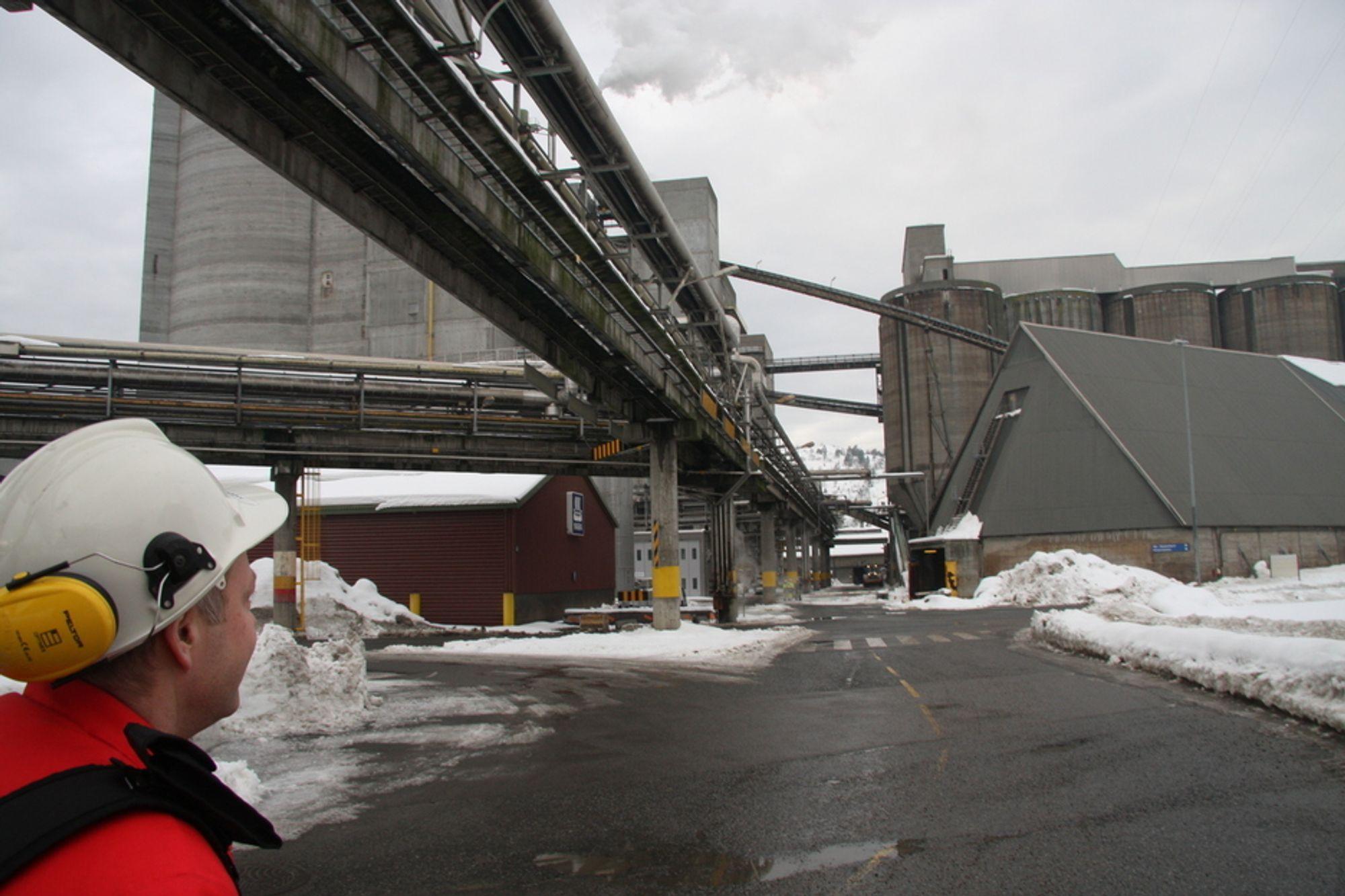 FALL: En av 10 årsverk i industribedriftene har forduftet de siste to årene.