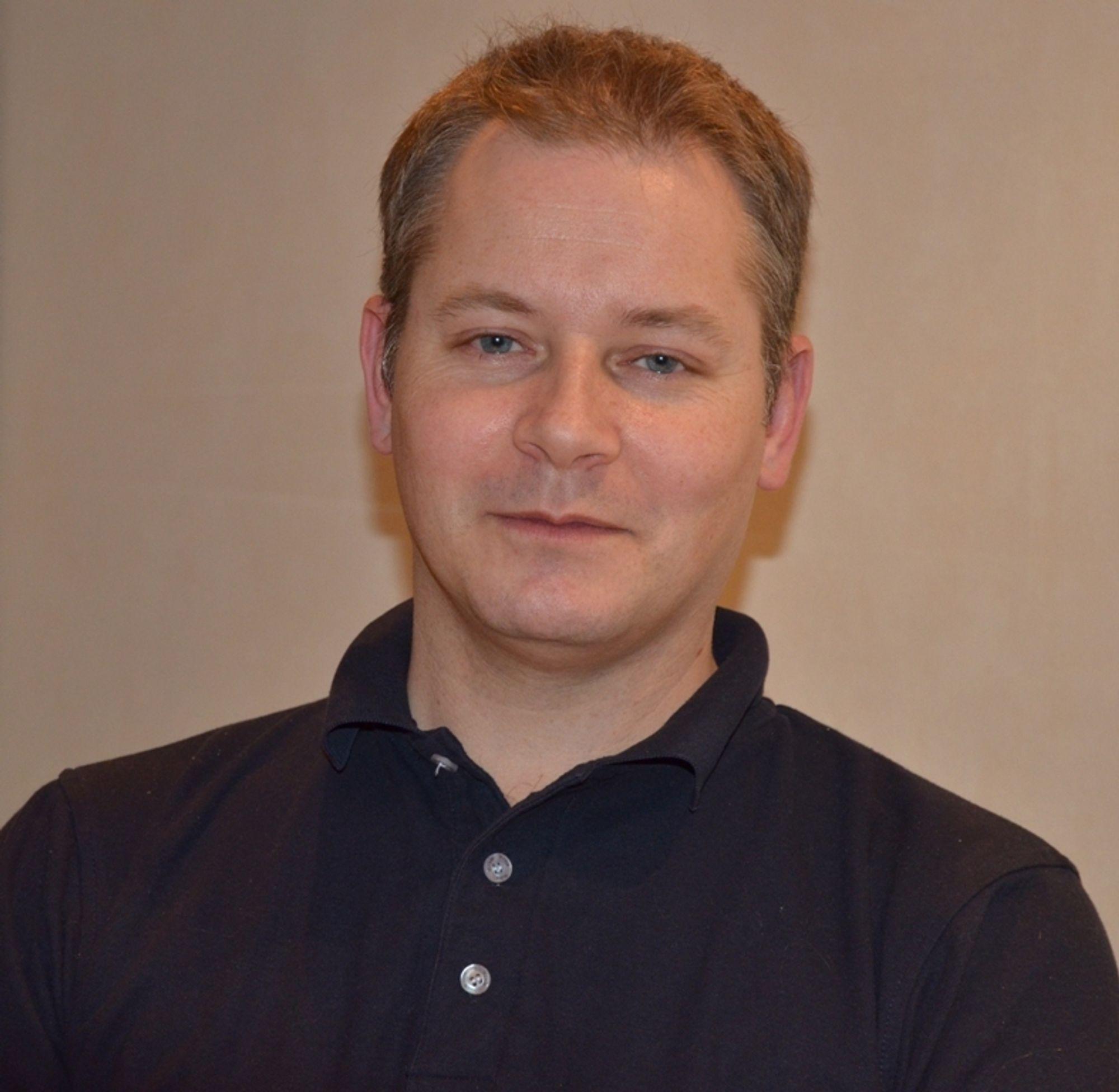 NY LEDER: Vegard Eng blir leder for Distrikt Østfold i Veidekke.