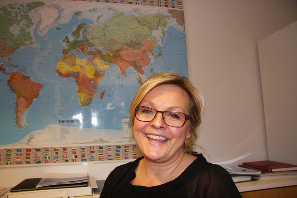 UTRETTELIG: Rikke Lind har i over 10 år jobbet til beste for maritim industri og for flere kvinner i bransjen. Nå får hun pris for det.