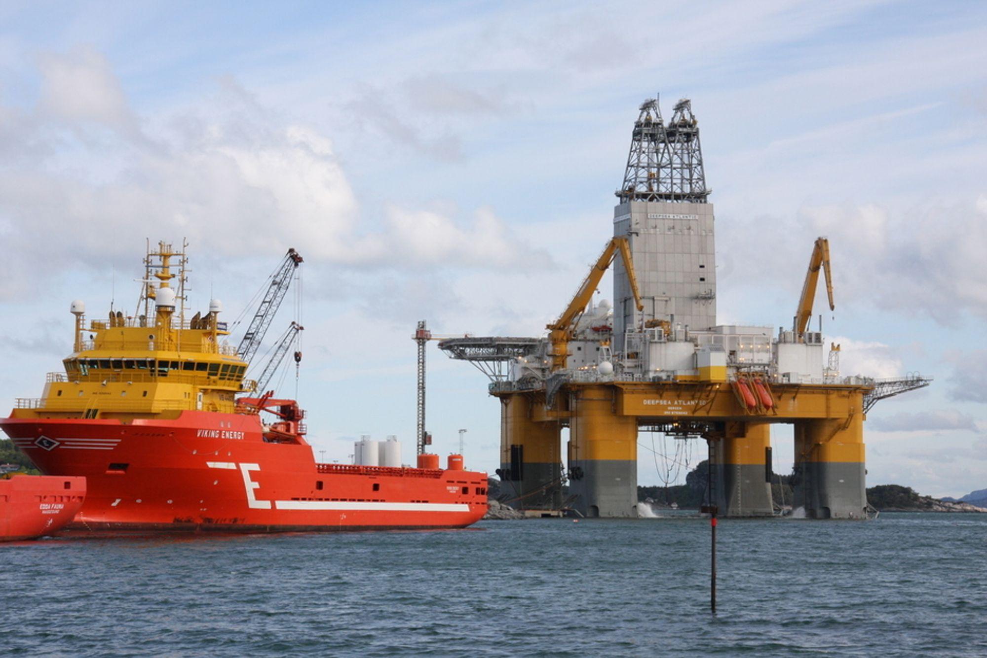 HAR BLITT ENIGE: Odfjell Drilling dropper anken mot Statoil i striden om bruk av riggen Deepsea Atlantic.