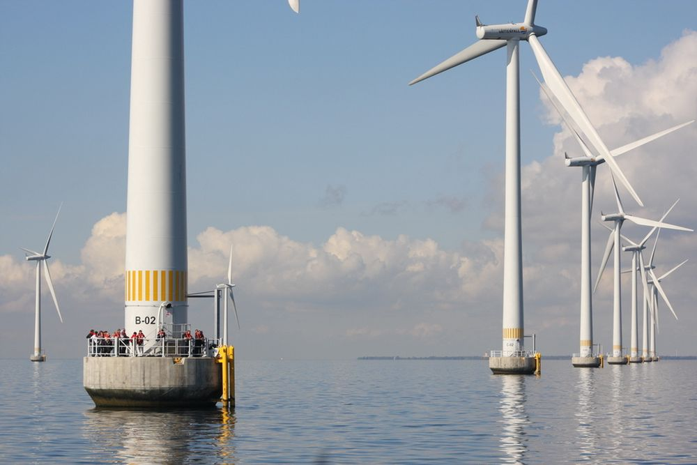 DROPPER HAVVIND: Havvindparken Lillgrund i Sverige ble utviklet av Fred. Olsen Renewables-selskapet Eurowind. Nå dropper Fred. Olsen et 450 MW havvindprosjekt i Skottland for heller å konsentrere seg om landbasert vind.