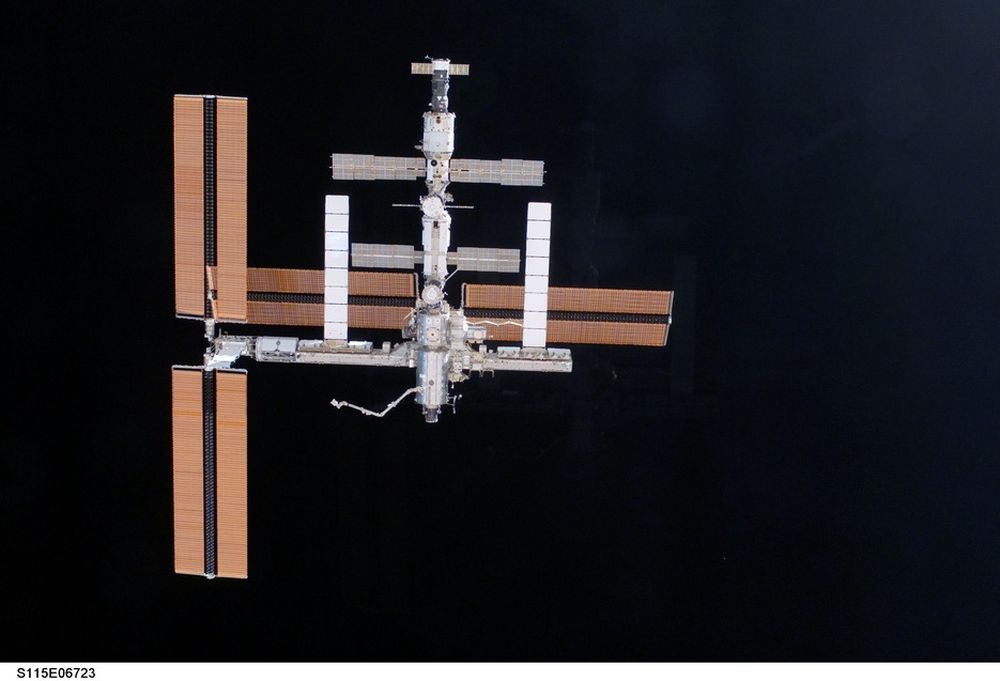STABILT: Romstasjonen er nå stabil igjen, selv om den bare har hatt ett kjølesystem siden lørdag.
