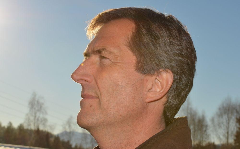 LYSE TIDER: Konsernsjef Walter Qvam i Konsgsberggruppen har hatt et godt år i 2010. med nye rekordoverskudd.