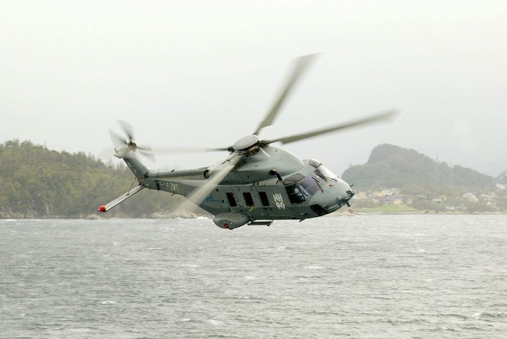 Det er et NH90-helikopter som fabrikken eier og har ansvar for som i første omgang skal til Bardufoss slik at innfasingen kan starte. Men først må maskinen få en ny motor.