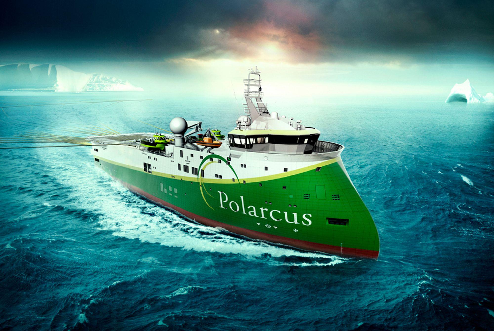 TO: Polarcu bestiller to seismikkfartøy av typen SX134 ved Ulstein Verft.