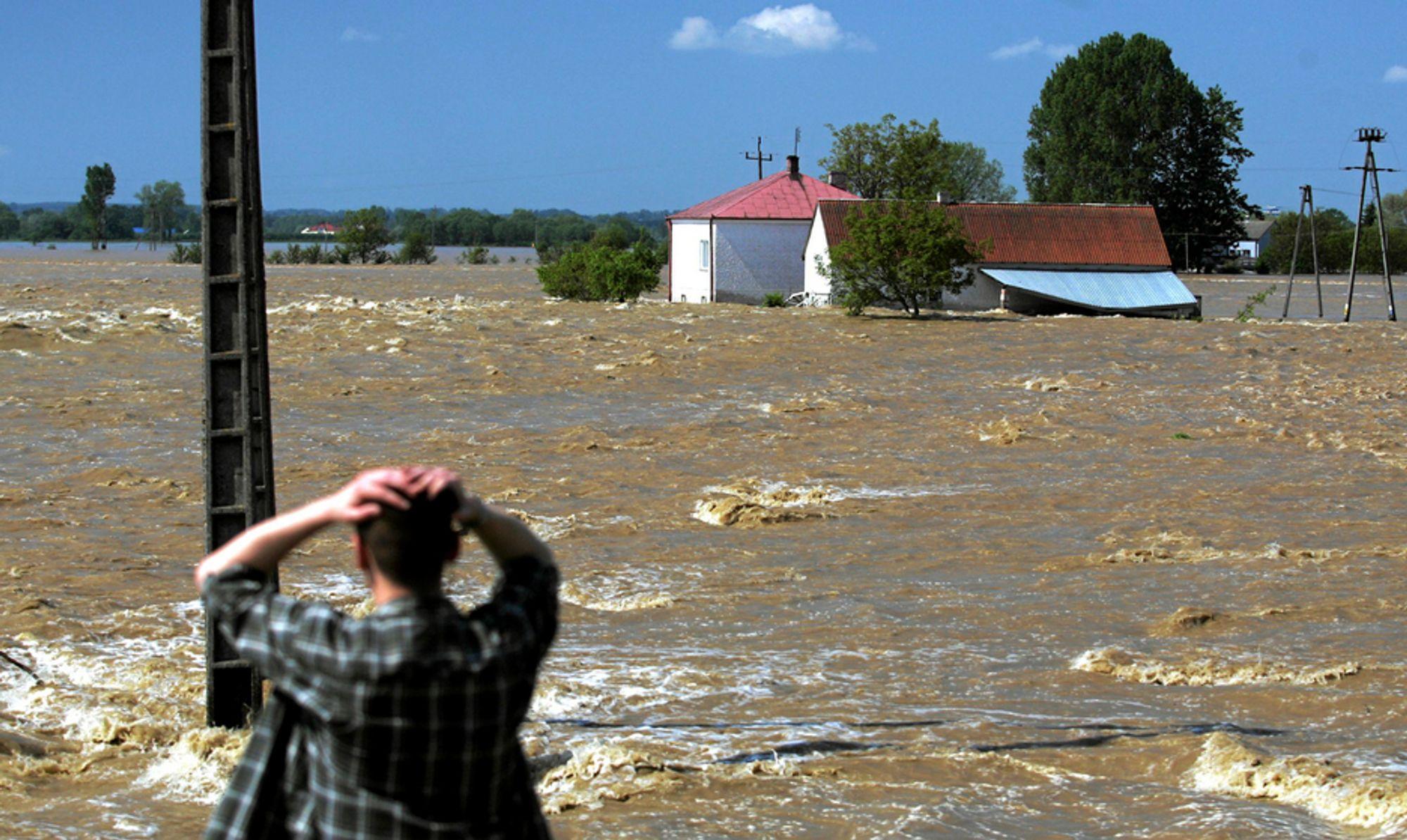 Stadig flere i Vesten er skeptiske til om klimaendringene er menneskeskapte.