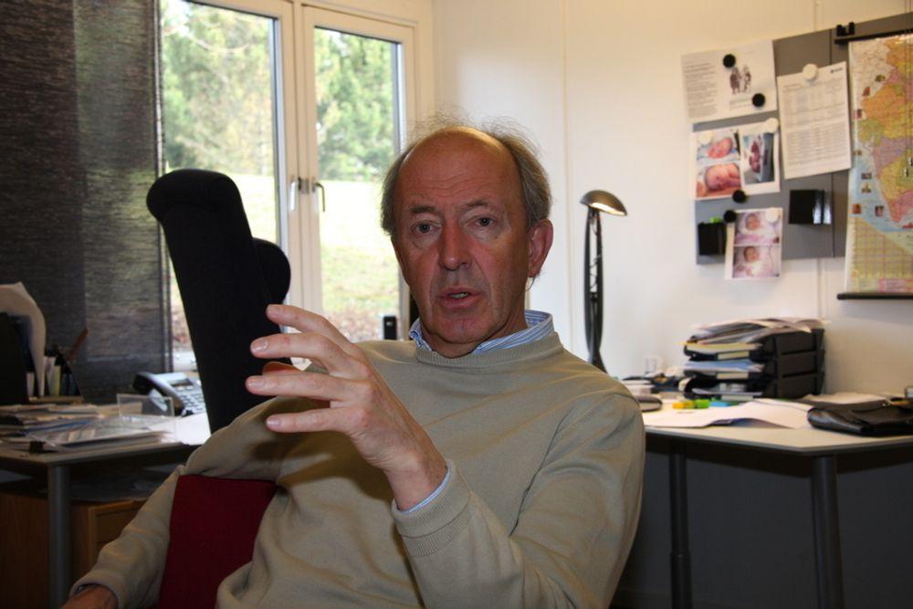HÅNDSLAG: Administrerende direktør i Intsok, Gulbrand Wangen, mener at de norske bedriftene er flinke til å dele erfaring og hjelpe hverandre.