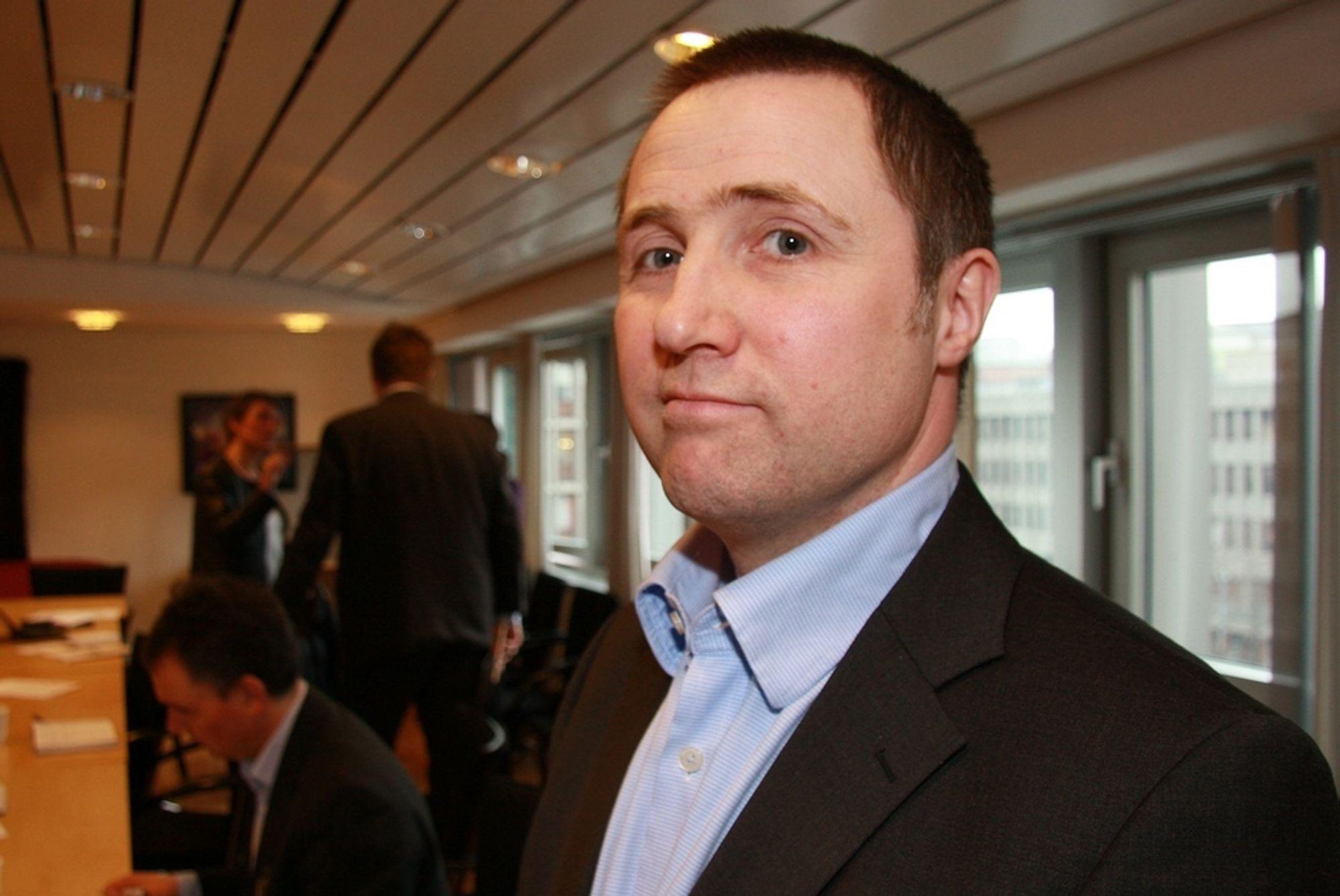 FRYKTER  IKKE ESA: Enovas avdelingsdirektør for energiproduksjon,  Øyvind Leistad, er overbevist om at Eftas overvåkingsorgan Esa vil godkjenne Enovas støtte til Fakken vindpark.
