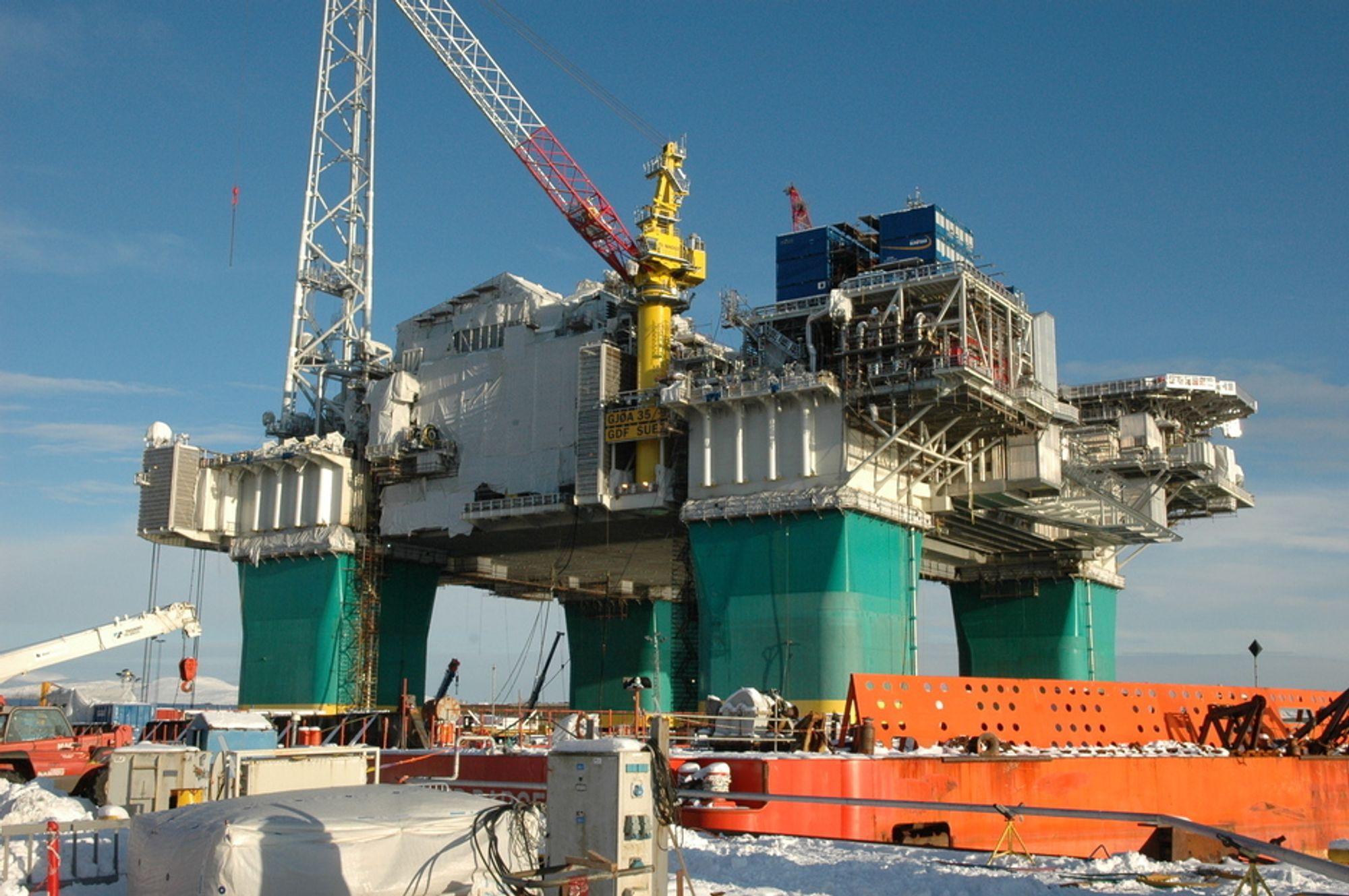 Gjøas skrogkonstruksjon er underkjent av DNV.