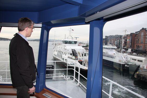 De tre LNG-drevne passasjerfergene til Tide Sjø. De trafikkerer Nesodden-Aker Brygge på en 15-årskontrakt fra 2009, med opsjon på 2 x 5 år. Tidekongen, Tidedronningen, Tideprinsen