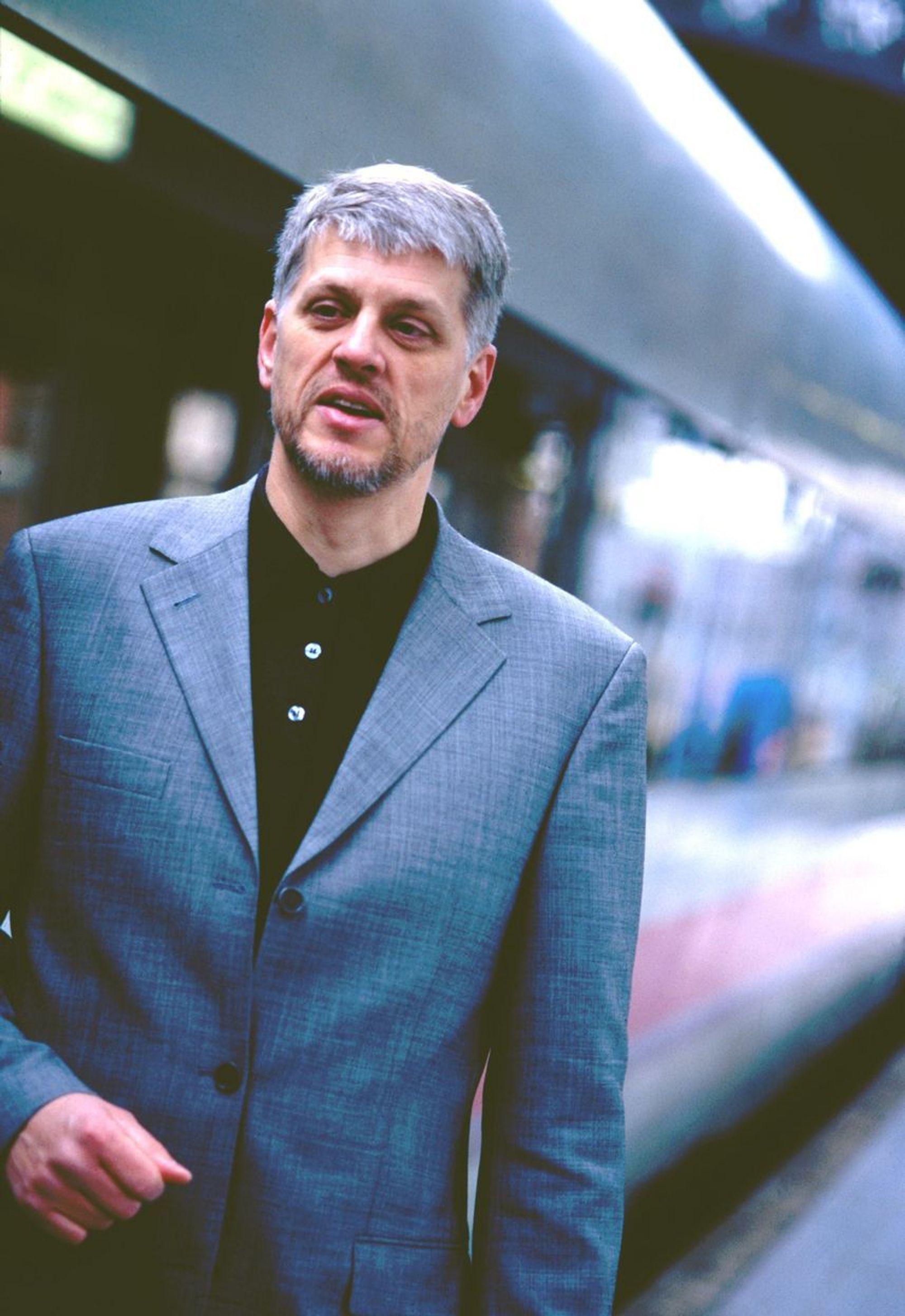 Jørg Westermann, daglig leder, Norsk Bane. Høyhastighetstog.