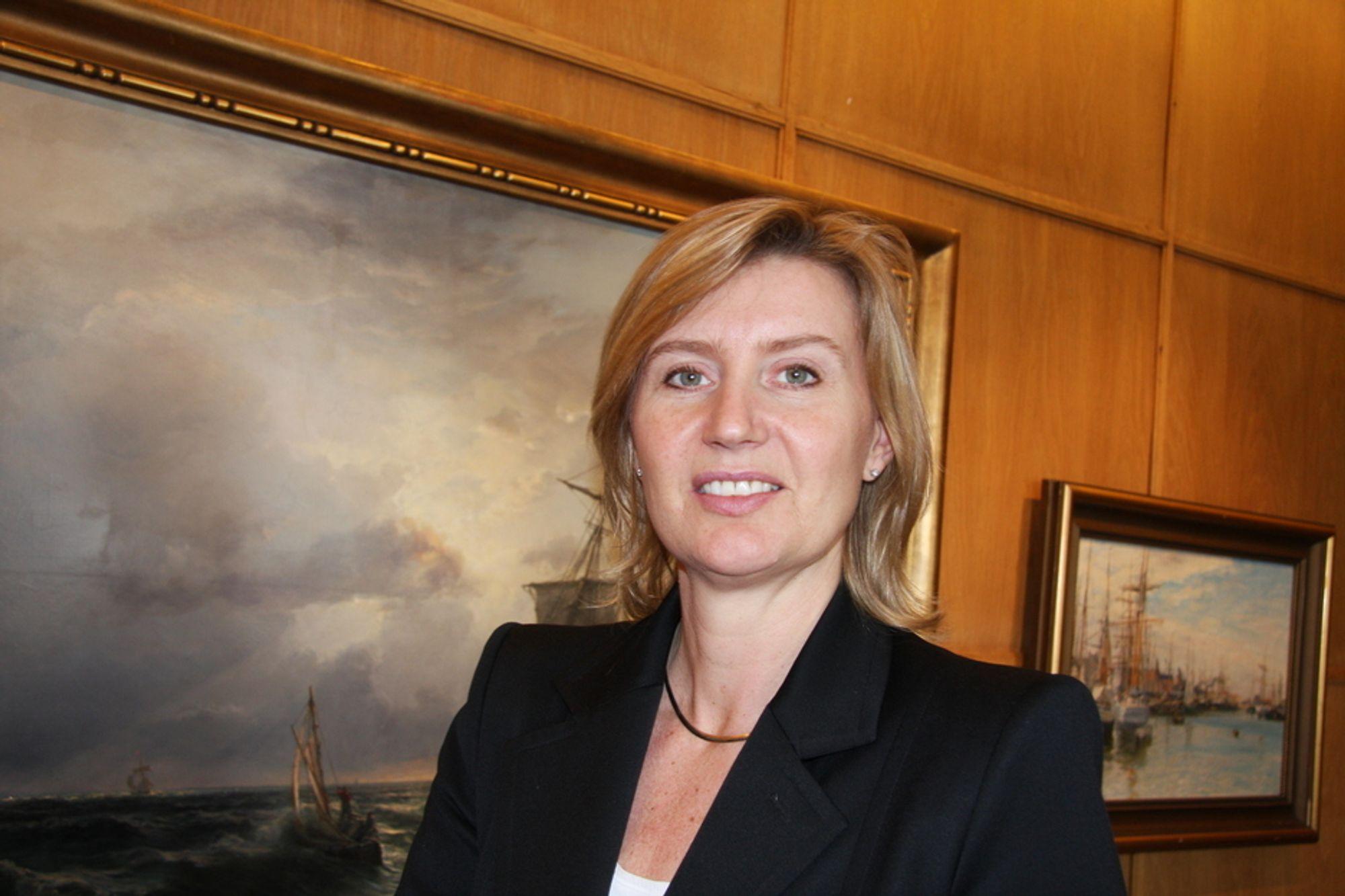 LEDER: Yngvil Åsheim leder styret som skal utarbede den maritime næringens nye strategi.