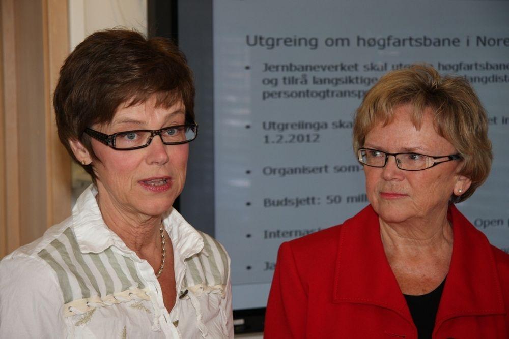 IGJEN: Det er ikke første gang i år at Kleppa innkaller Elisabeth Enger til et krisemøte om jernbanen.