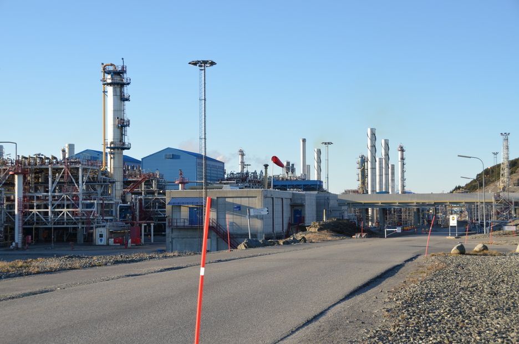 MILLIARDER: Gassled eier anleggene på Kårstø og Kollsnes og disponerer tilsammen 8000 km med rørledninger.Foto: Anders Steensen