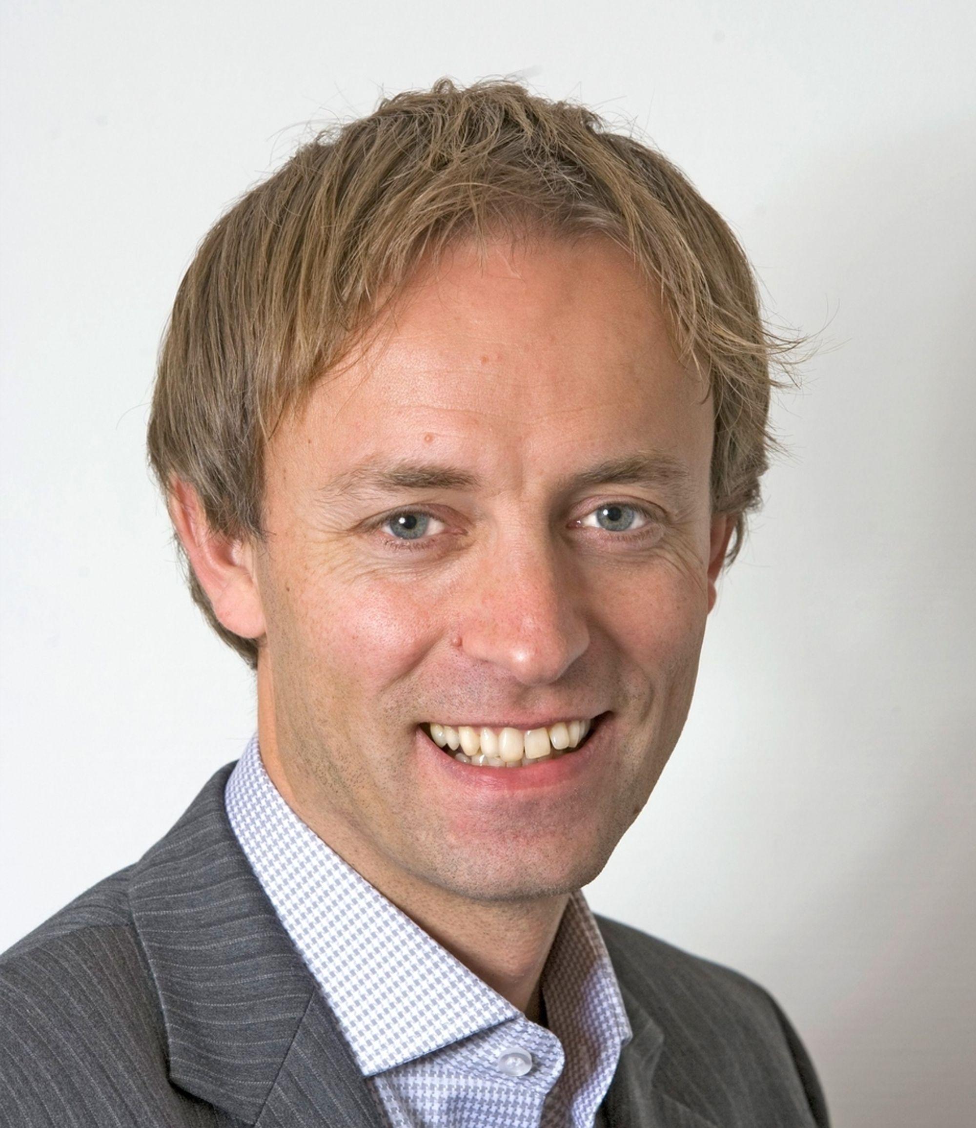 INTERN: COWI fant med Terje Bygland Nikolaisen sin nye leder i egne rekker. Han har vært ansatt i selskapet siden 2005.