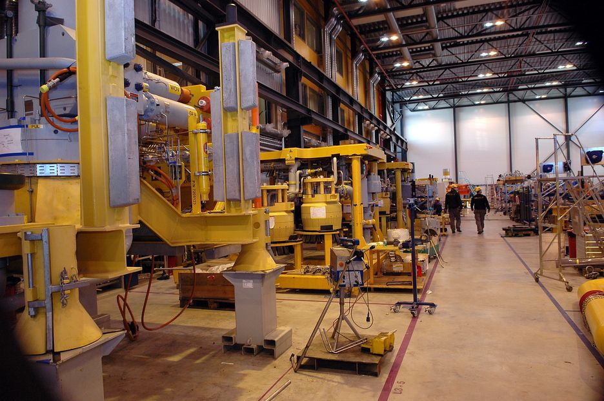 STORKONTRAKT: Mye av utstyret til Pan Pandora skal produseres og monteres på FMCs verksted i Kongsberg.