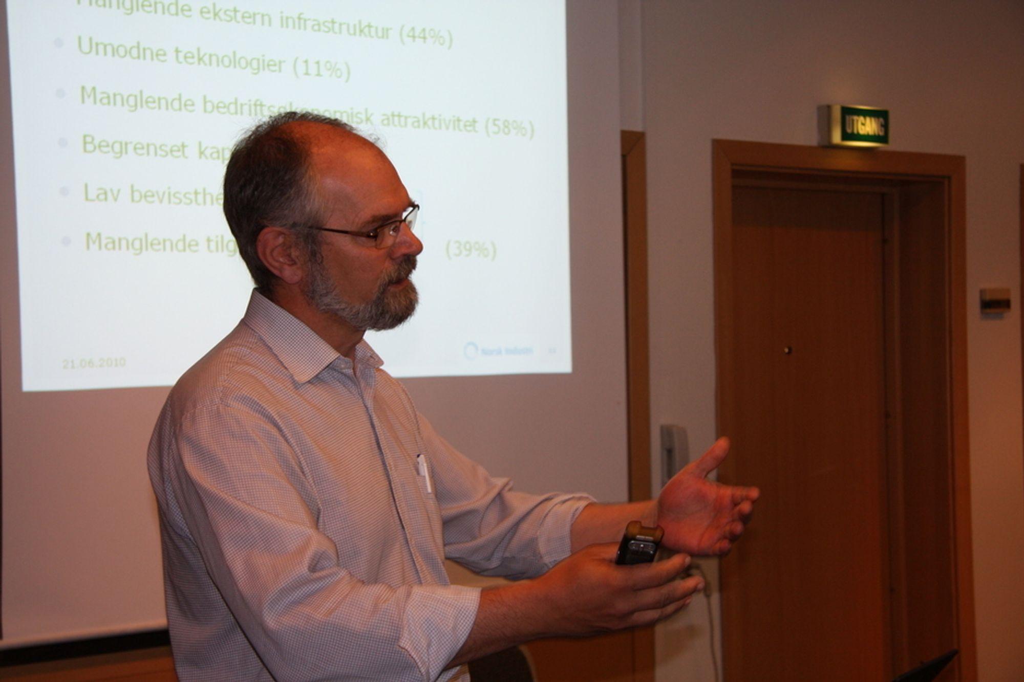Den tidligere Krf-politikeren Bror Yngve Rahm snakker nå varmt for norsk industri.