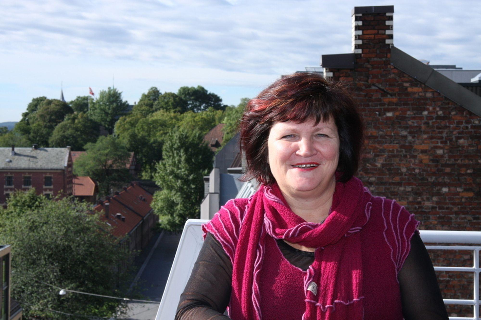 BEGGE DELER: - Det å sette distriktene opp mot det internasjonale fungerer ikke, sier direktør Gunn Ovesen i Innovasjon Norge. Hun mener det er mulig å øke Norges innovasjonsevne og eksport samtidig som man tar vare på og utvikler distriktene.