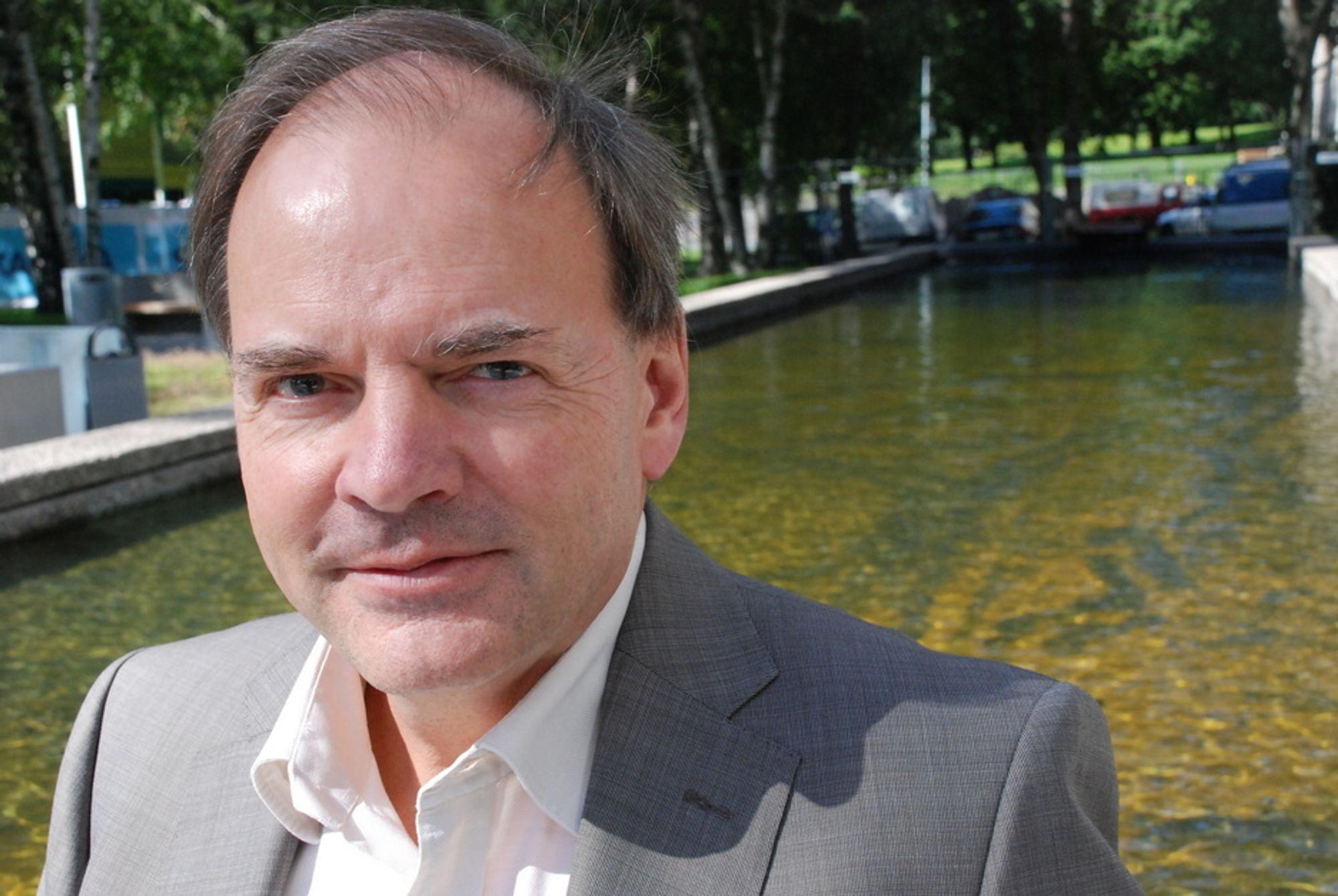 SLAKTER REGNSKAP: Hans Erik Horn i Energi Norge har sammen med Norsk Teknologi skrevet brev til Statsbygg med kraftig kritikk av klimagassregnskap.no.