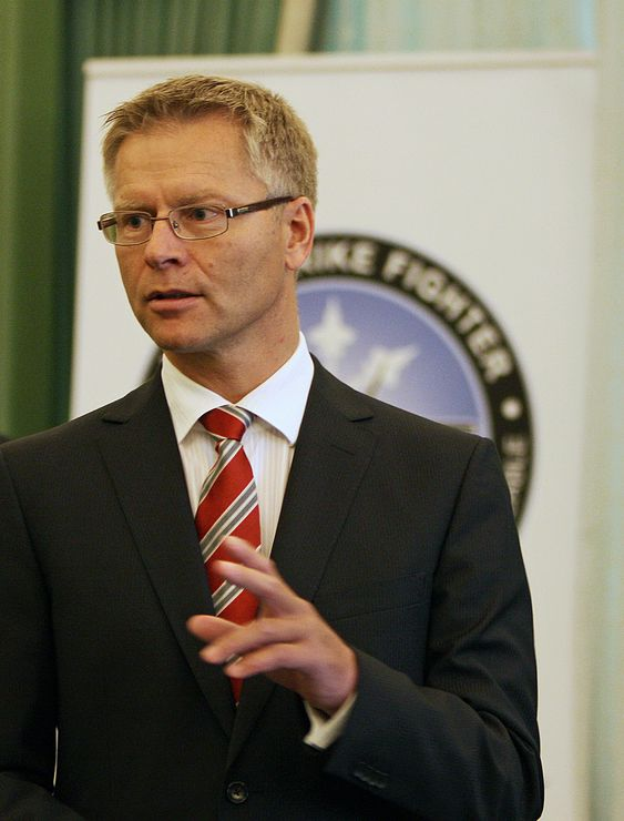Harald Ånnestad er konserndirektør i Kongsberg Defence Systems.