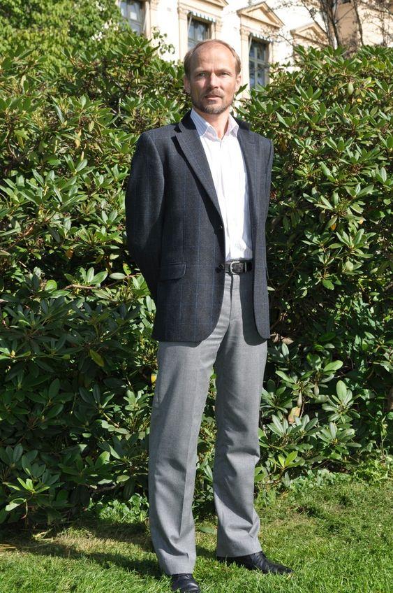 - GODE TILBAKEMELDINGER: Sivilingeniør Vidar Holmøy, daglig leder i Norsetek, presenterte Light Rotor-teknologien på EWEC i Polen.