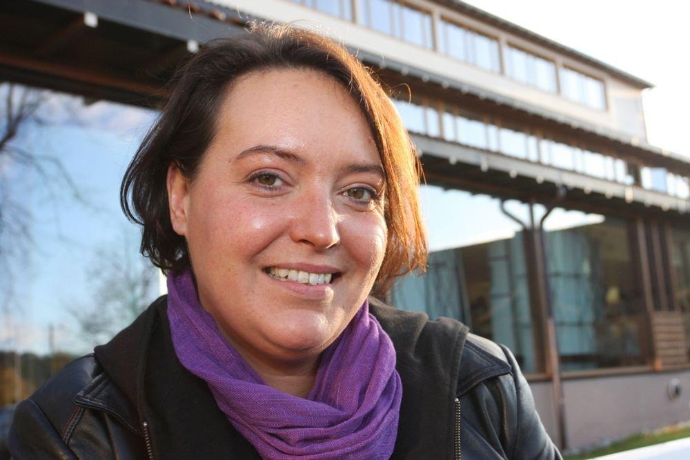 BLOGGERNES HELT: Camilla Lindberg fikk 4 500 hyllest-mail og 300 blomsterbuketter på én dag fra svenske personvernforkjempere. Hos partifellene fikk hun en kald skulder.