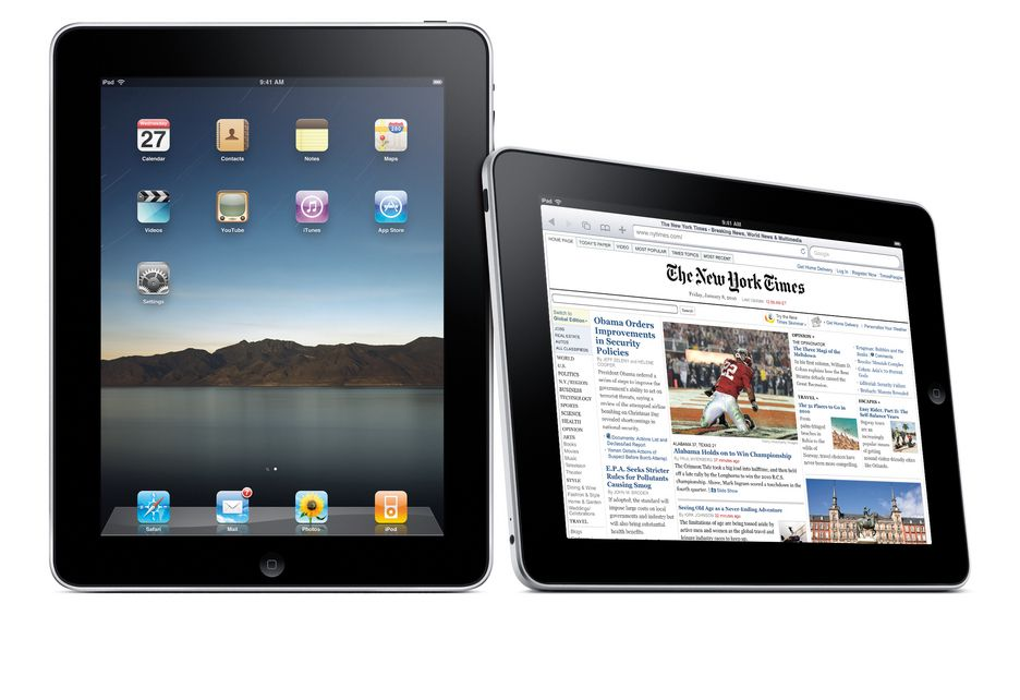 iPad kommer til utvalgte europeiske land i slutten av mai, men Norge eller Norden er foreløpig ikke nevnt med et ord.
