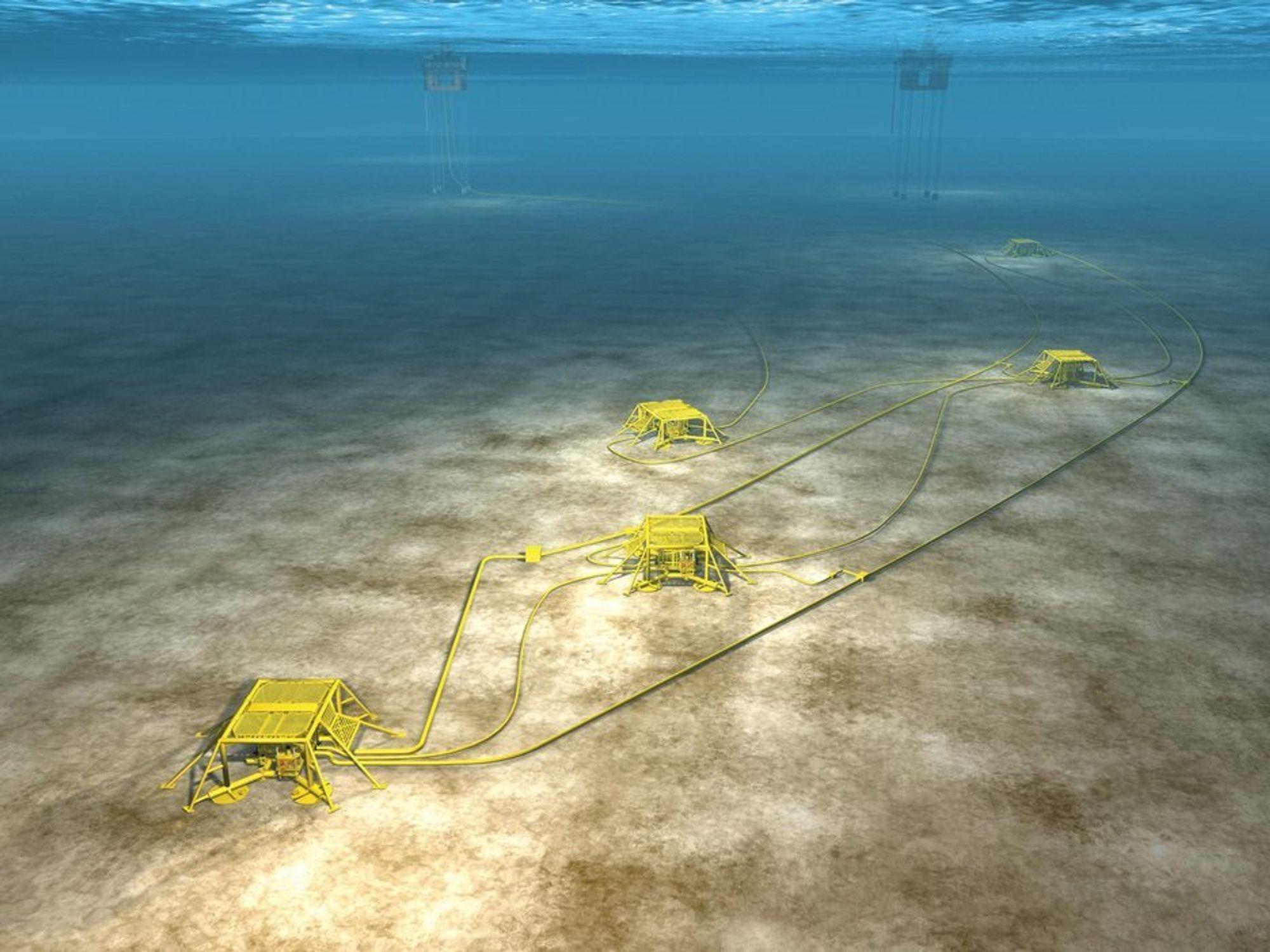 FIKK PRIS: Statoil fikk Five Star Award som en av de fem beste offshoreprosjektene på dypt vann i 2009 av Konferansen Deep Offshore Technology i Houston.