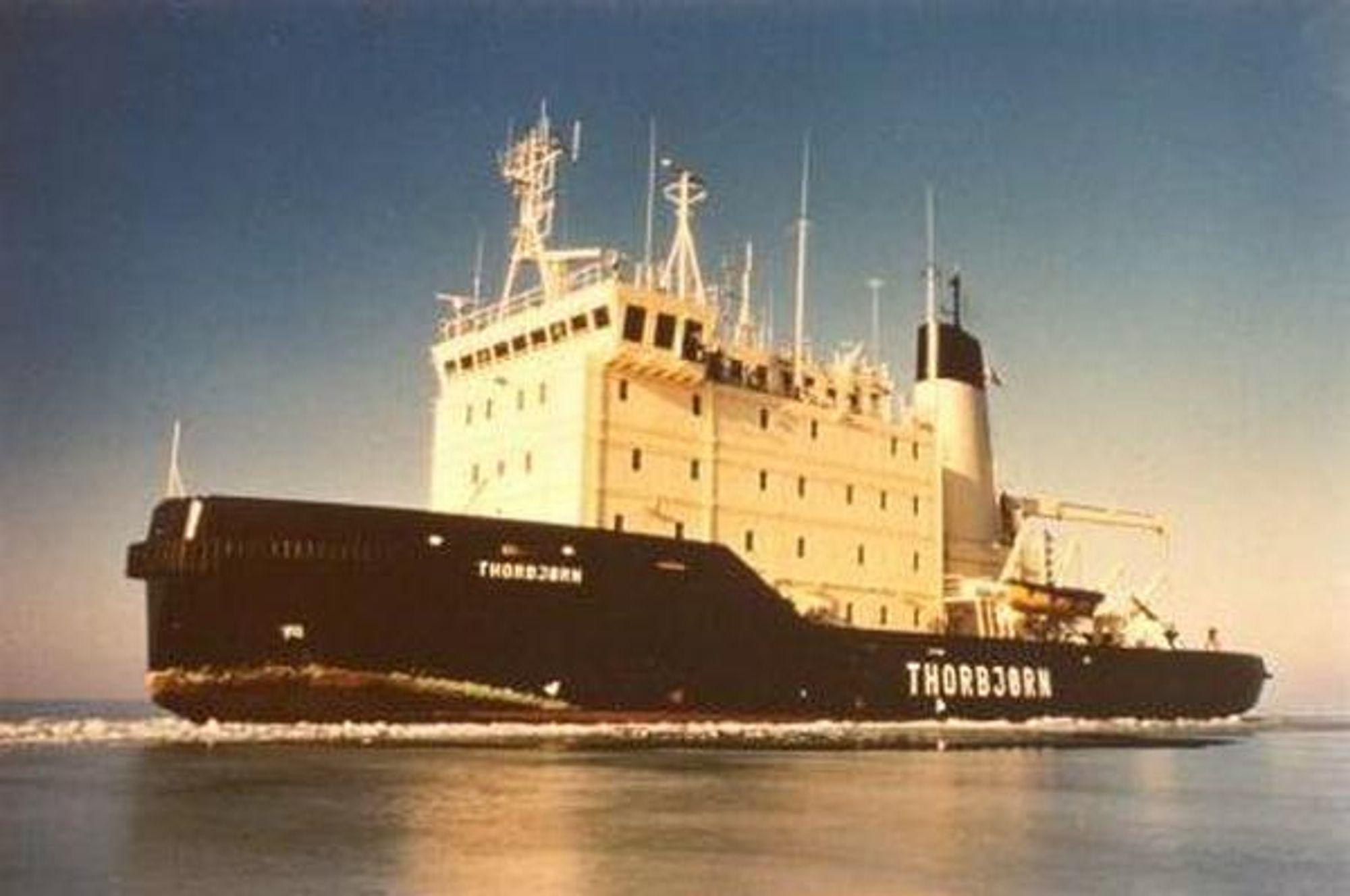 Thorbjørn, dansk isbryter. Thorbjørn ble ferdigstilt ved Svendborg Værft i 1981 og er både sjøoppmålingsskip og isbryter. To hovedmotorer driver to propeller. Den holder 16 knop og kan takle 1,5 meter tykk is. Thorbjørn er 67 meter lang og 15 meter bred. Besetningen er på 24 personer.