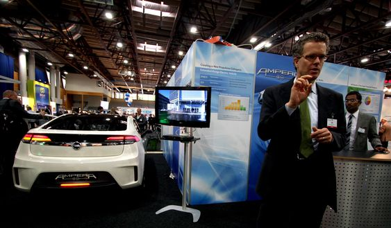 """- Uttrykket """"morsom å kjøre"""" handler ikke bare om høyt dreiemoment, men også at du kan sitte bak rattet med god samvittighet, sier sjefingeniør Frank Weber i General Motors."""