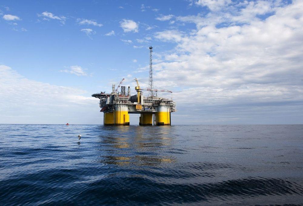 Kristin: I 2010 ble det gjennomført modifikasjoner på Kristin-plattformen i Norskehavet.