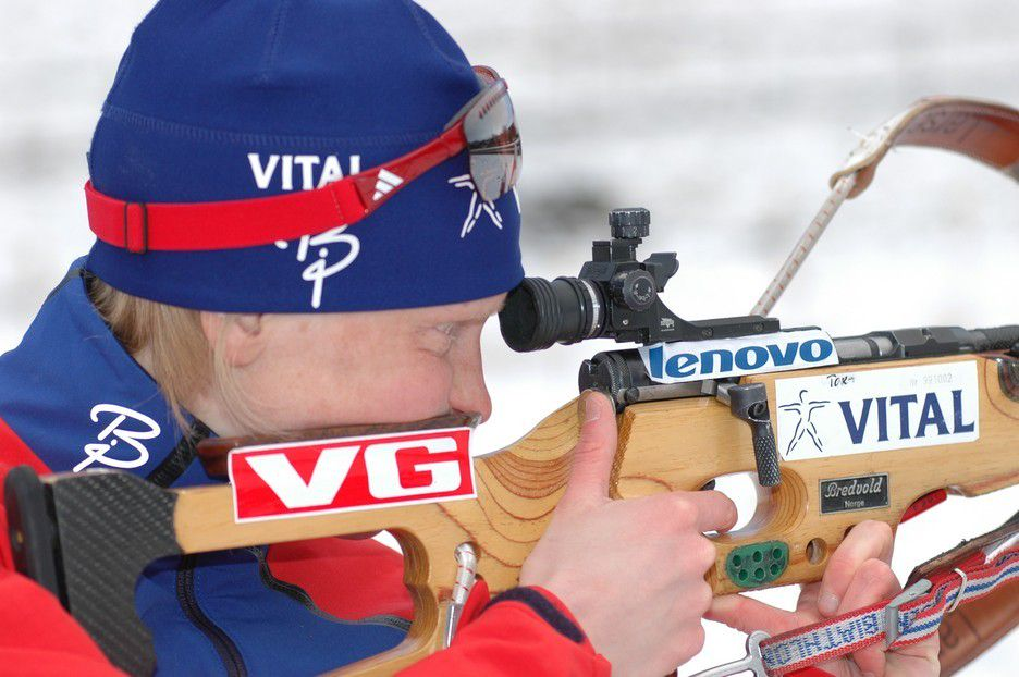 KLAR FOR ØSTERSUND: Skiskytter Tora Berger har vært syk, men er nå klar for verdenscupåpningen i Østersund denne uken. Men der truer dårlig drikkevann, trolig på grunn av parasitten cryptosporidium.