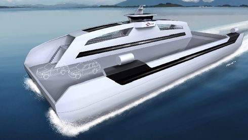Norsk skipsfart skal gå i null innen 2050 – da trengs «elbil-tiltak»