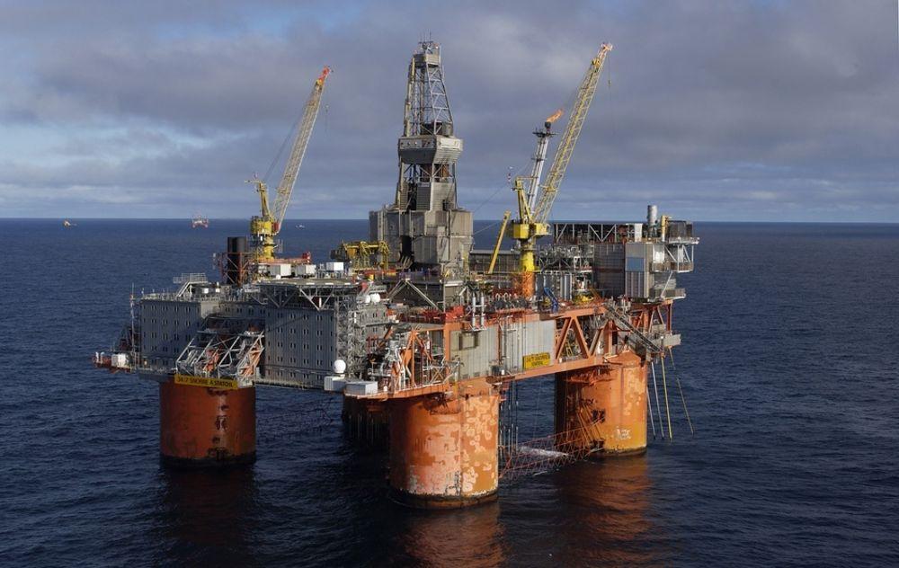 En gasslekkasje har ført til at produksjonen på Snorre A er midlertidig stengt.