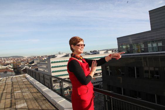 Ellen Stensrud, førstesekretær i LO. Bilder tatt i forbindelse med Profil-intervju 26.10.2010.