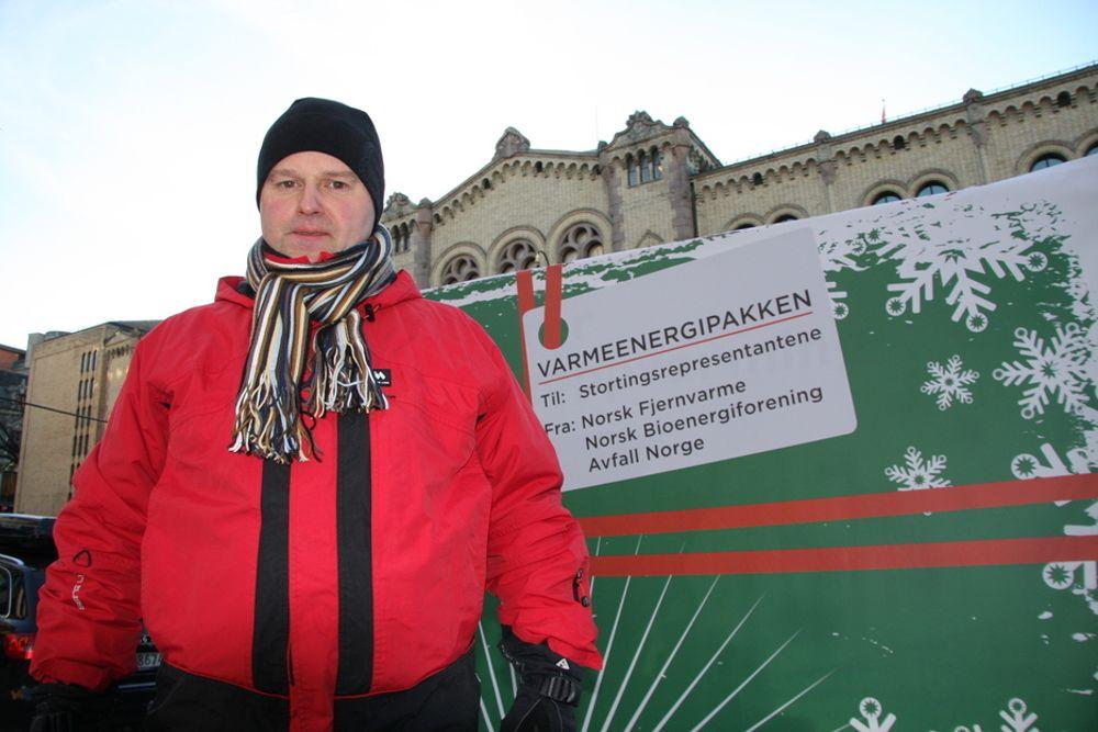 ENGASJERT: Cato Kjølstad, daglig leder i Nobio, Norsk bioenergiforening.