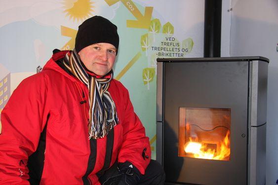 Cato Kjølstad, daglig leder i Nobio, Norsk bioenergiforening. Tatt den 25.11.10