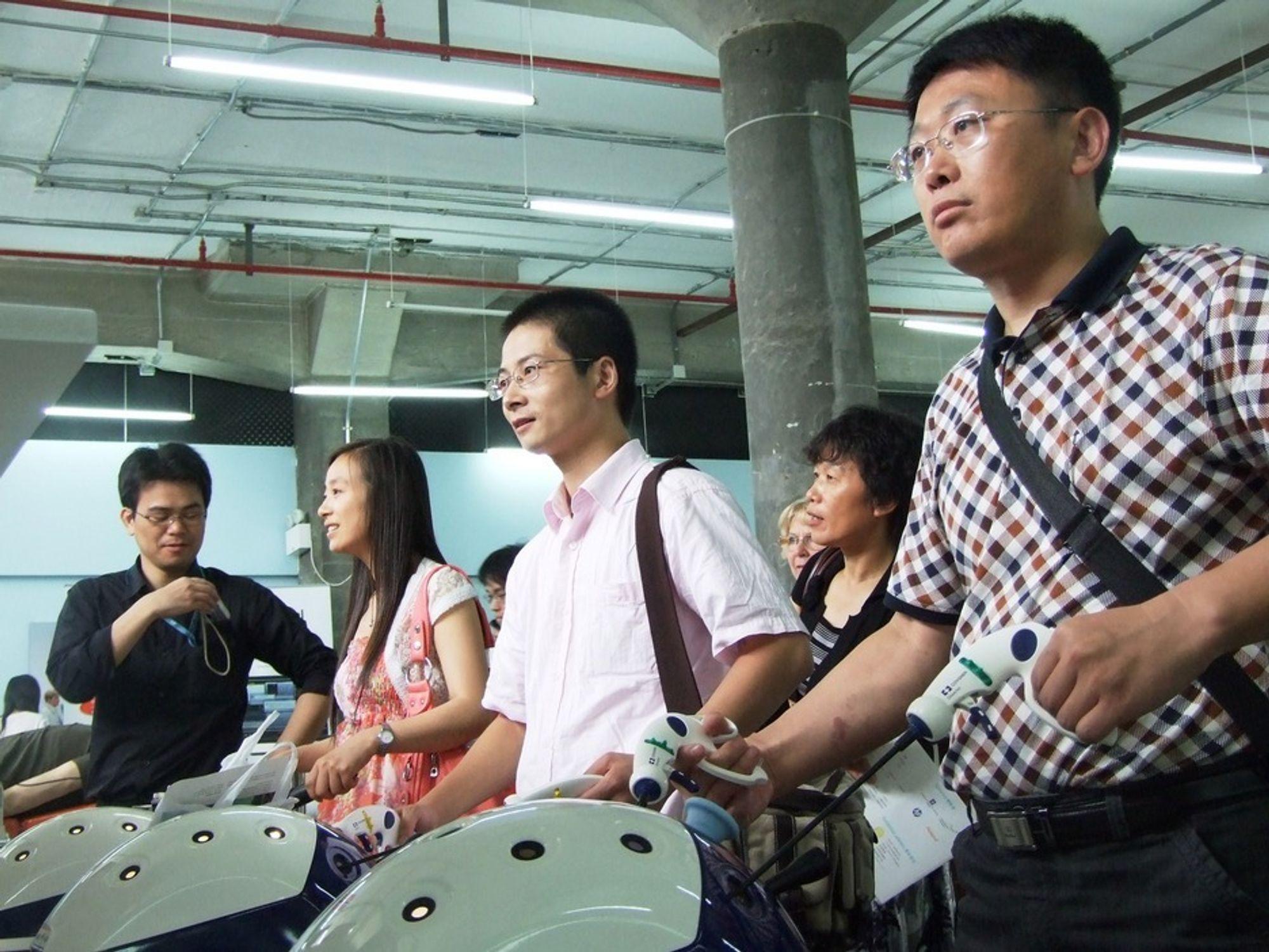 Lapskill Medicals demonstrasjonsutstyr for simulering av kikkhullskirurgi ble solgt til et kinesisk sykehus.