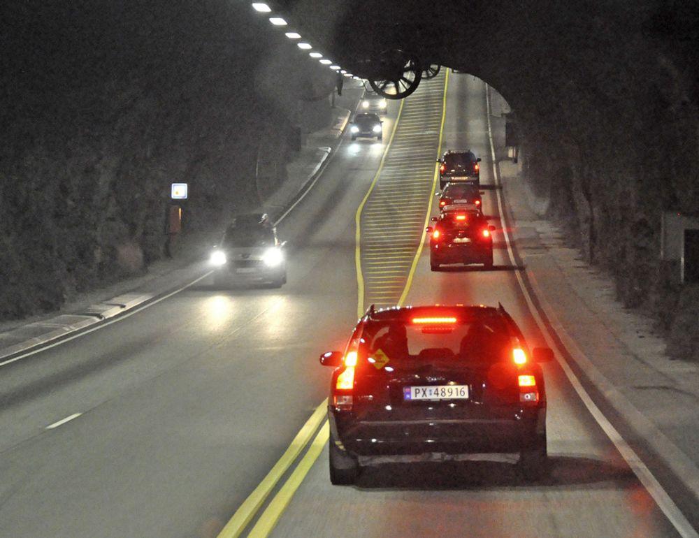 Mesta ligger godt an til å få kontrakten på drift og vedlikehold av elektriske installasjoner i 27 kommuner på Vestlandet. Bildet er fra Europas lengste undersjøiske vegtunnel, Bømlafjordtunnelen, som ligger i tre av de berørte kommunene.