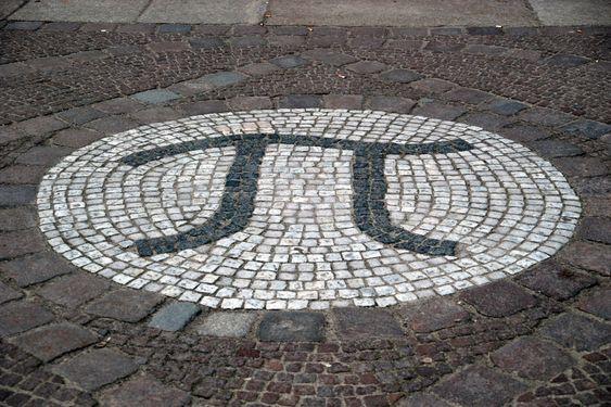 Pi  Inngang til matematikkbygningen ved det tekniske universitetet i Berlin