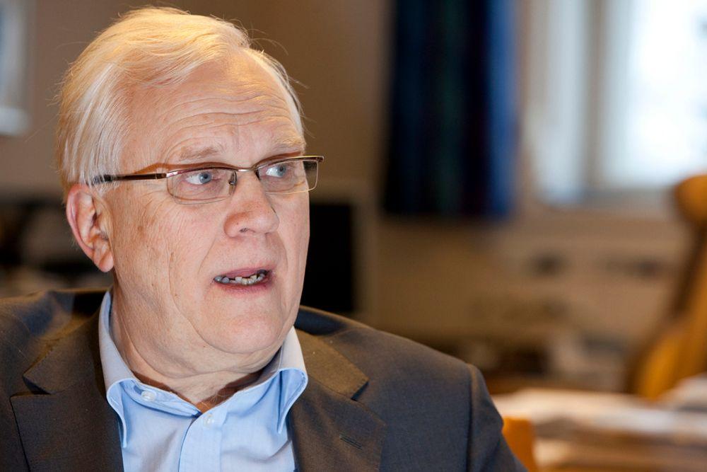 GLEDE: NTNU-rektor Torbjørn Digernes ønsker flere jenter velkommen.