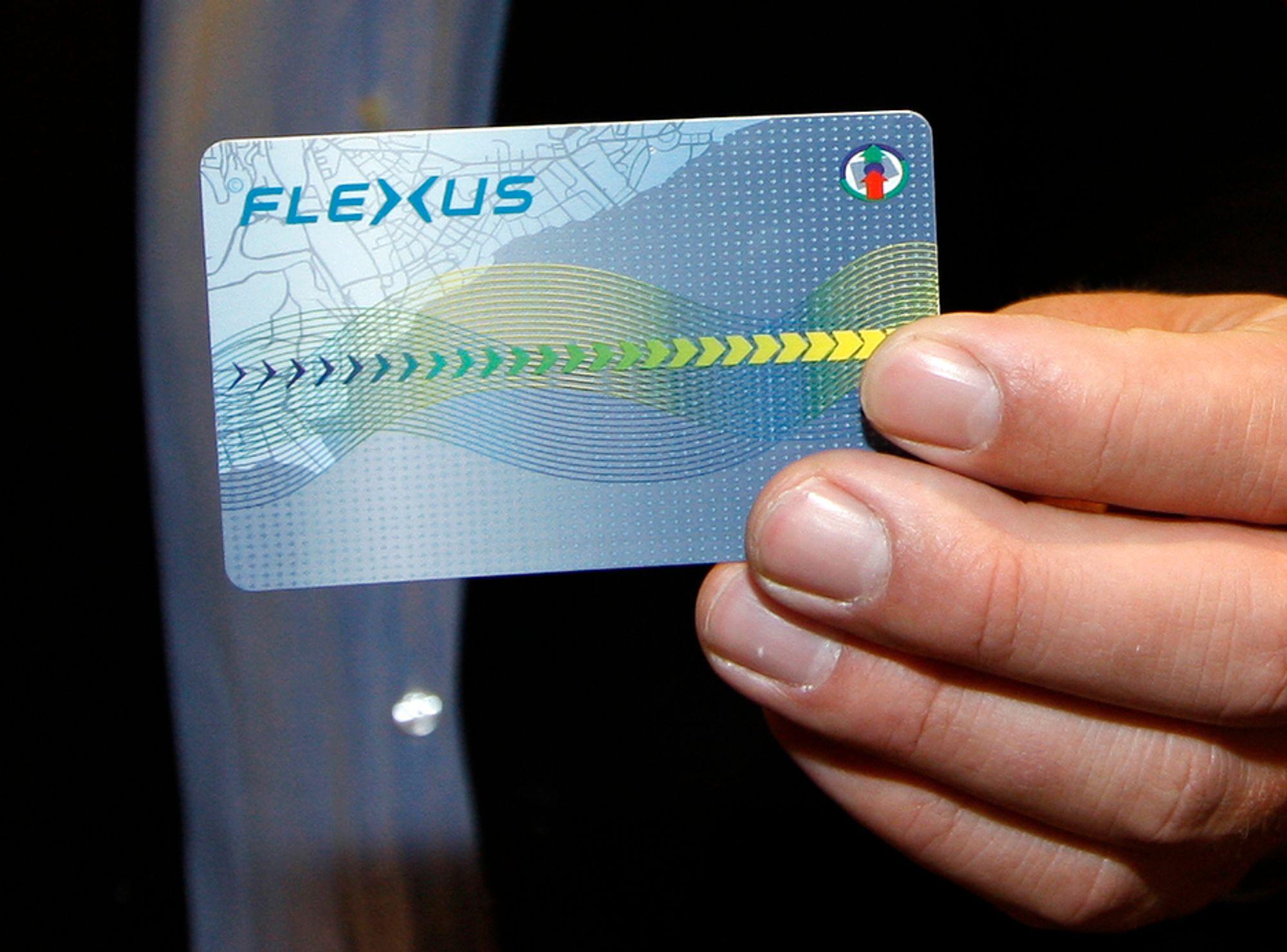 Det er nærmere 300.000 Flexus-kort i omløp, men Ruter har bare to kortlesere som kan sjekke om de er gyldige ved kontroller.