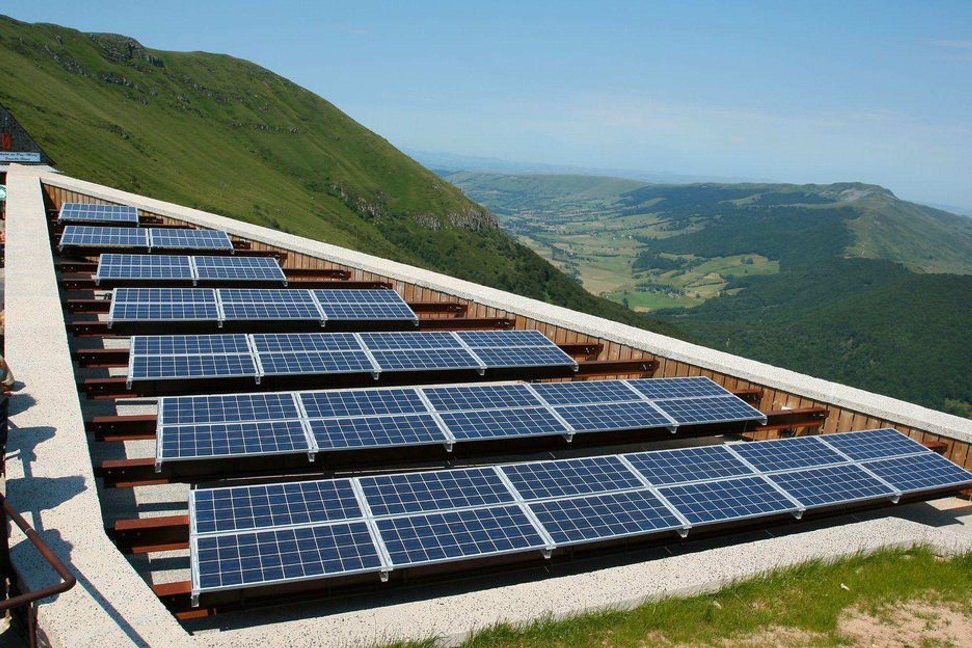 VIL UT: Statkraft vil selge seg ut av solsatsingen i Italia
